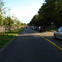 Anfahrt. Eigentlich mal wieder nichts ungewöhnliches. Bis auf die Tatsache, daß die Messung inmitten der BUGA-P&R-Parkplätze stattfand.