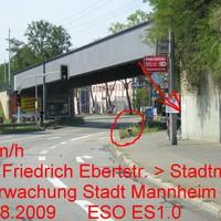 Gesamtansicht. Mittlerweile der 7. Messpunkt in der Friedrich Ebertstr.
