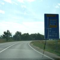 Fahrtrichtung Süden (Bamberg) am Ortsausgang von Breitengüßbach