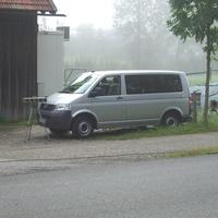Meßfahrzeug mit Einseitensensor 3.0 der KVS Oberland in Bad Tölz. Gemessen wurde von 7-10 Uhr.