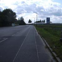 Anfahrtsansicht. Hinter uns liegt der Bereich der Schleswiger Straße in dem häufiger gemessen wird.