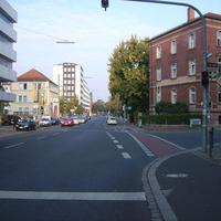 Anfahrtsansicht Höhe Praterstraße.