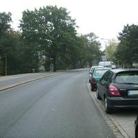 Anfahrtsansicht am Beginn des Maxtorgrabens kurz hinter dem Rathenauplatz.