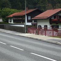 Hier in Fahrtrichtung Ettal/ Oberammergau. Gemessen wurde durch die ZKVS Oberland. Wie immer sehr netter Umgangston. Man kennt sich halt.:)