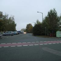 Anfahrtsansicht kurz vor Beginn der Tiroler Straße auf der Ingolstädter Straße.