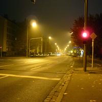 Anfahrtsansicht in Höhe Holzwiesenstraße / Amberger Straße.