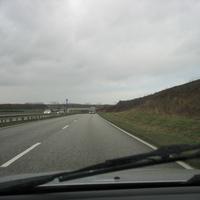 In dieser Höhe auf der Umgehungsstrasse, der B 106 wurde im NDR Radio MV auf die Radarstelle bei der Fußgängerbrücke hingewiesen.