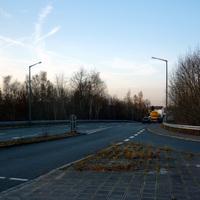Anfahrtsansicht in Höhe der Hafenstraße.