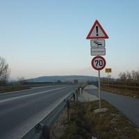 Aus Breitengüßbach bzw von der Autobahn her kommend gilt diese Beschilderung.