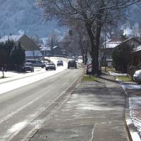 Hier die Anfahrt aus Richtung Schongau kommend.