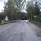 Anfahrtsansicht in Höhe des Ortsausgangs von Neumühle. Aber Achtung: Hier gilt ein Tempolimit von 60 km/h.