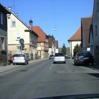 Anfahrtssicht von Brackenheim kommend in Richtung Nordheim
