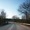 Anfahrtsansicht. Wir befinden uns im 80er-Limit vor der Brücke über die Rednitz.