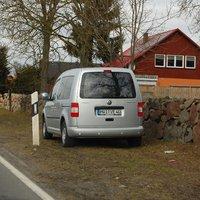 Brandneuer Meßwagen, VW Caddy