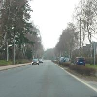 Anfahransicht vom Ortseingangskreisel / Bad Schwartau kommend.