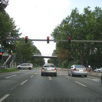 Anfahrt Richtung Bochum