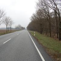 Anfahrt in Richtung Schwerin. Heute stand dort nicht der goldene Golf, sondern der ES3.0.