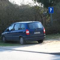 Einbau im Opel Zafira