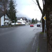 Man fährt nichts ahnend durch die St. Martin Straße in GAP.