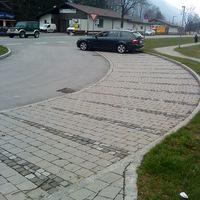 Zivilpolizei bei der Schleierfahndung in Oberau.