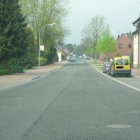 Anfahrt vom Ort Richtung Oebel