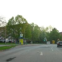 Anfahrtsbild von der Ziegelstrasse in die Beethovenstrasse abbiegend,
