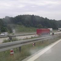 Von Dresden (A4) kommend und auf die A72 wechselnd.
