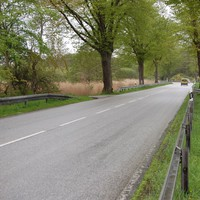 Heute mal nur in Richtung Schwerin, sehr schwer zu sehen.