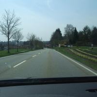 Anfahrt aus Richtung Pullach und meine Radarwarnung im Navi schlug an.