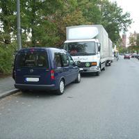 Auf dieser Straße werden außerdem sowohl Seitenscheibenmessungen, als auch Messungen auf der anderen Straßenseite durchgeführt.