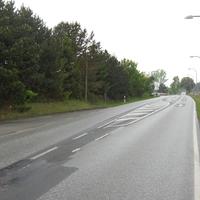 Heute eine beidseitige Messung. Hier die Ansicht in Rtg. Schwerin, auch schon von bert fotografiert.