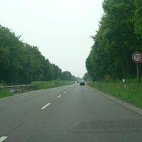 Anfahrt von Mönchengladbach(A52)