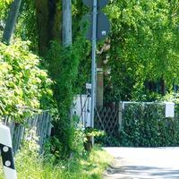 Bild wurde vom rechten Strassenrand der Walter-Klippel-Str. von der Eubaer Str. kommend aufgenommen.