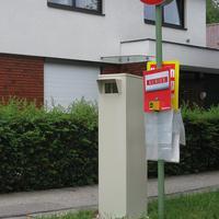 Private ATTRAPPE einer Radarbox Kolpingstraße 29, 4600 Wels www.nachrichten.at/oberoesterreich/wels/art67,413353