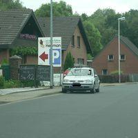 Radarwagen mit LEITER