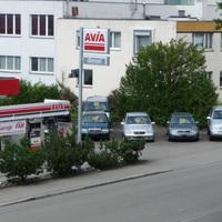 An der Pumpwerkstrasse in Regensdorf, bei der AVIA Tankstelle.