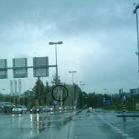 Von Süden Richtung Autobahn