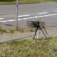 Hier die FE 3.0 Digitalkamera mit ihrem Regenschutz