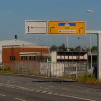 Dieses ist die Richtung in der heute geblitzt wird. Stadteinwärts / Autobahn / Konstinkai / Nordlandkai ...