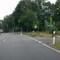 Position des Messgeräts rechts vom 2.Leitpfosten hinter der Einfahrt. Landkreis führt aus. Hier ist noch SFA.