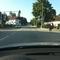 Anfahrtsansicht von der Gegenseite. Der Gegenverkehr warnt sporadisch mit Lichthupe.