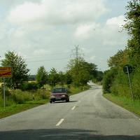 """Hier ab dem Ortsende ist die """"Durchfahrtsgefahr"""" zuende ..."""