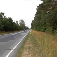 Ansicht Rtg. Schwerin. In beiden Richtungen geht es hier kilometerlang geradeaus.