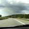Anfahransicht kurz vor der 2. Brücke seit der Auffahrt Lüdersdorf...