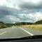 Anfahransicht kurz vor der 2. Brücke seit der Auffahrt Lüdersdorf...weiter nur mit Tempo 100 ...