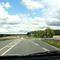 Anfahransicht aus Raddingsdorf über Boitin-Resdorf zur Autobahnauffahrt Lüdersdorf auf die A 20 Rtg. Lübeck fahrend...