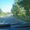 Fahrtrichtung Flöha. Den Abzweig Niederwiesa mit der Shell-Tankstelle haben wir hinter uns gelassen. Ab hier sind nur noch 100 km/h erlaubt.