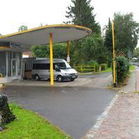 Der Ford Messbus RZ.MZ 456 und links in der Ecke der Wabenfilterblitzer in Rtg. Lübeck