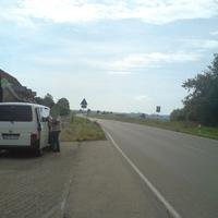 Gegenansicht mit Meßbus RW-AC 592. Der LKW-Fahrer auf dem Bild wurde mit brutto 81 gemessen und muß mit einem Punkt in Flensburg rechnen. Gruß an die freundlichen Meßbeamten!