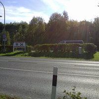 B93 in Richtung Neustädel (an der Feuerwehr)